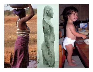 3 postures of standing